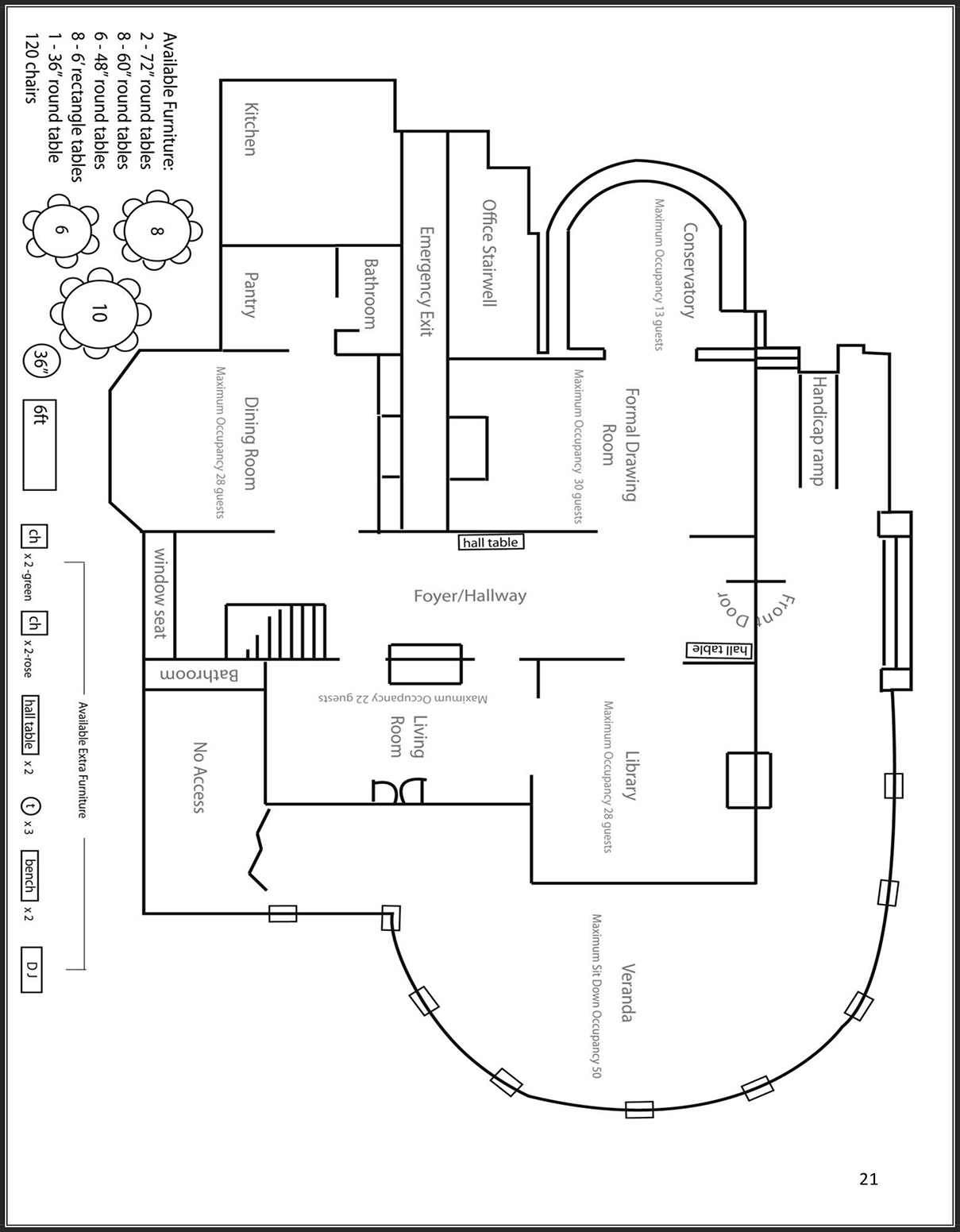 Blank Sample Floor Plan