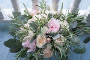 bridal bouquet by custom floral designs