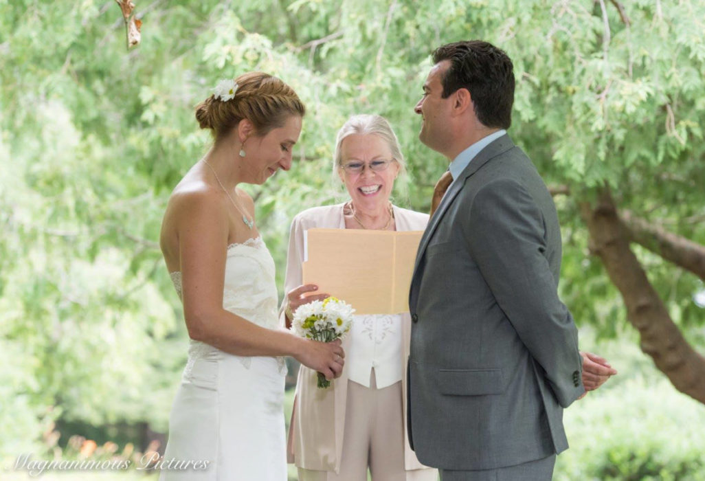 Brandy & Frank wedding ceremony