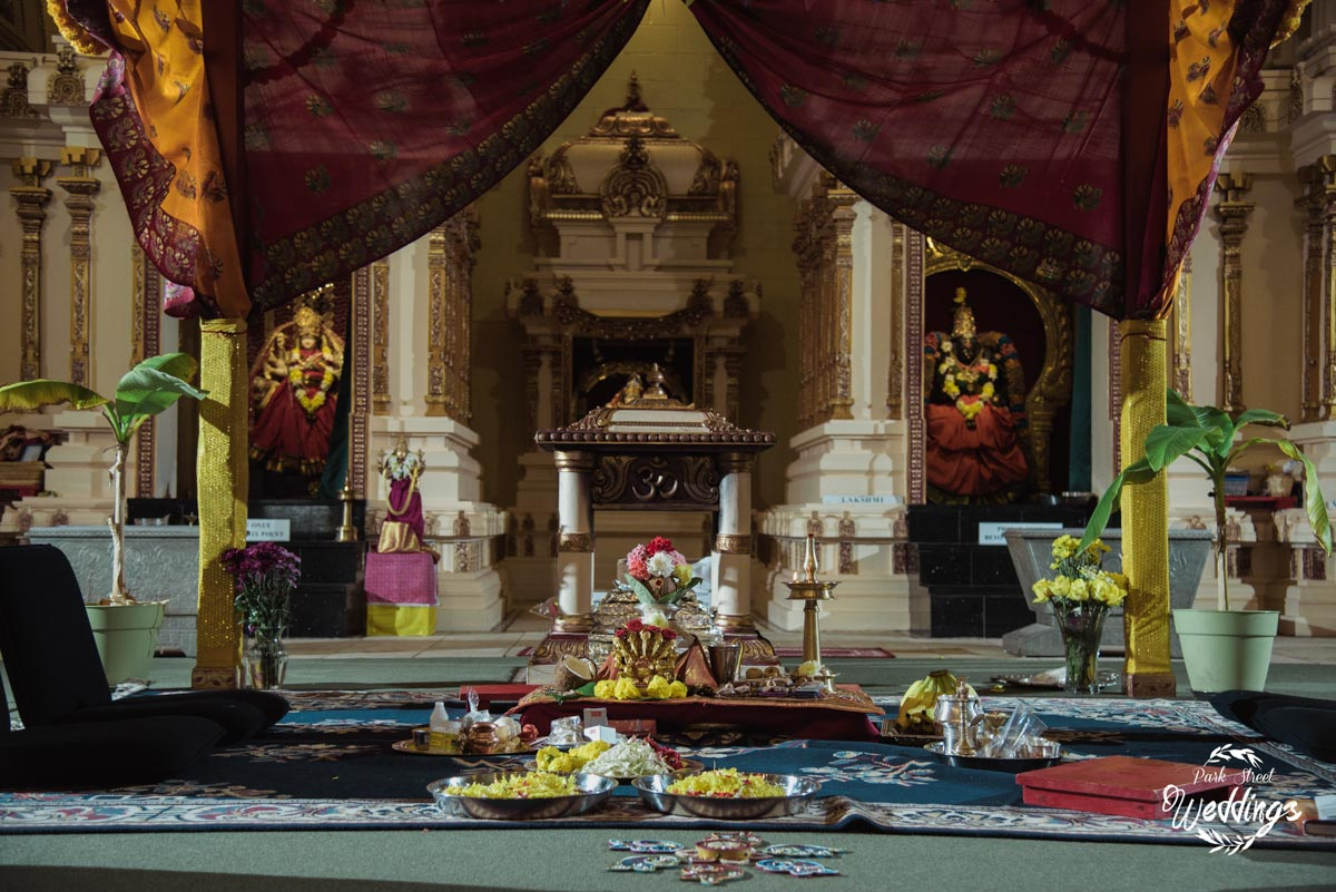 a-scene-from-the-temple-laid-out-for-the- indian-wedding-ceremony