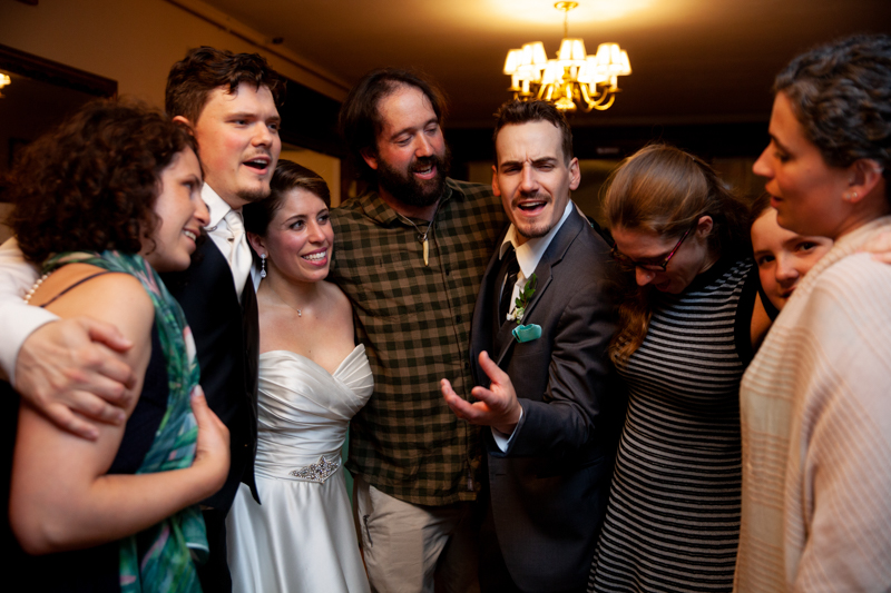 cuban-flair-wedding-bride-and-groom-with-friends-singing