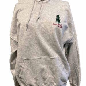 tarrywile park hooded sweatshirt with tree logo