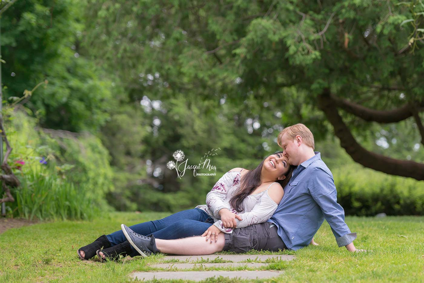 wedding-season-couple-sitting-together-on-grape-arbor-walkway