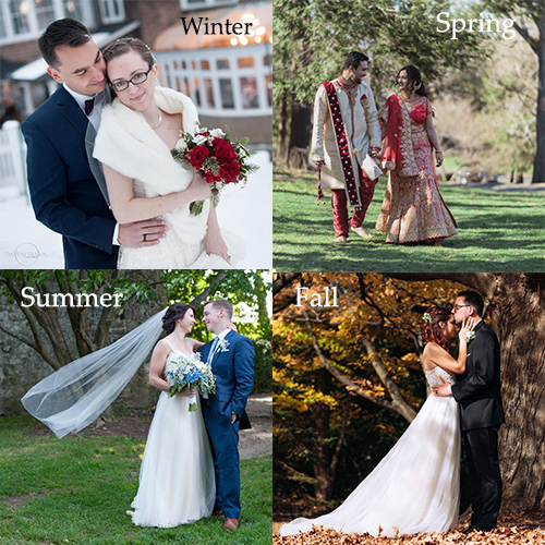 wedding-couples-in-spring-summer-winter-fall